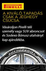Pirelli promóció